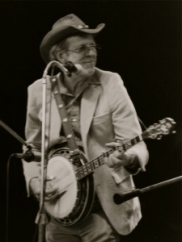 Doug Dillard Performing on Stage in 1984