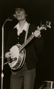 John Hartford Performing On Stage In 1984