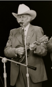 Bill Monroe Performing On Stage in 1984