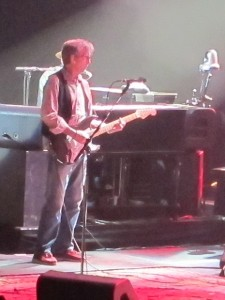 Eric Clapton performing in Hollywood, Florida