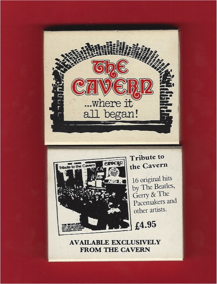 Cavern Club Matchbox