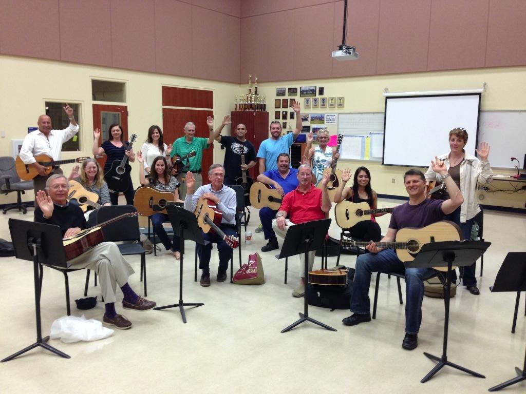 2014 Adult Beginning Guitar Class