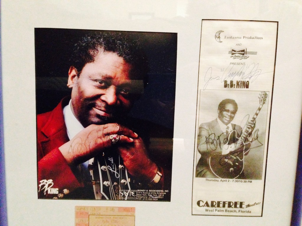 April 2, 1992 BB King Autographs