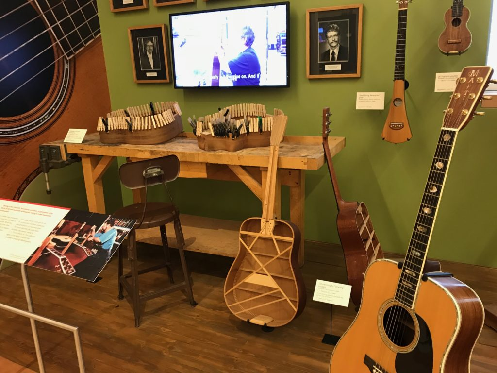 Martin Guitar Display