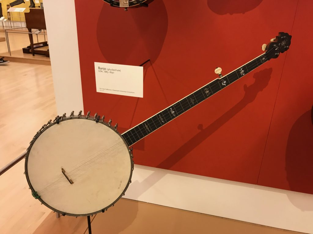 Banjo from the 1800s