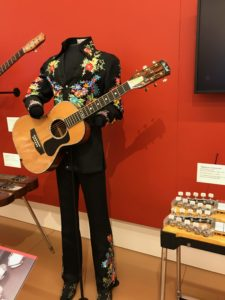 Marty Robbins Guitar & Nudie Suit